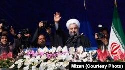 حسن روحانی، رئیس جمهور ایران در استان هرمزگان
