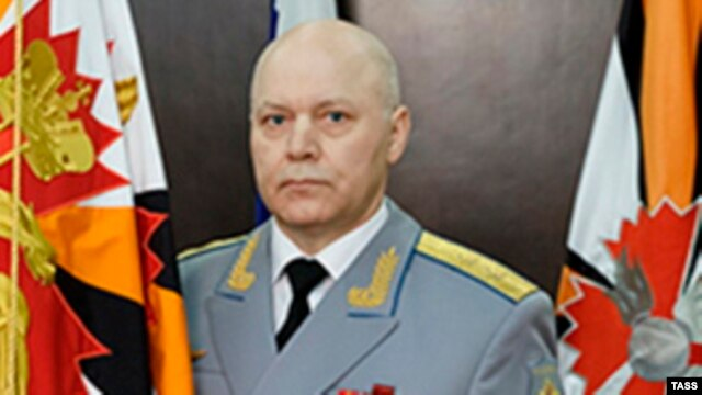 Lieutenant General Igor Korobov has been appointed as head of the GRU intelligence agency (file photo)