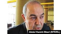 رئيس القائمة العراقية أياد علاوي