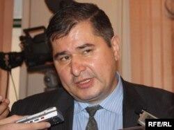 Тәжікстан социал-демократиялық партиясының басшысы Рахматилло Зоиров. Тәжікстан, 1 наурыз 2010 жыл.