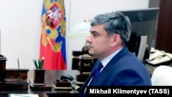 Kazbek Kokov, the new acting head of the North Caucasus republic of Kabardino-Balkaria