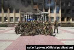 Після операції зведеного штурмового загону ЗСУ зі звільнення Торецька (Дзержинська). 21 липня 2014 року
