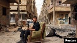 Эркин Сирия армиясынын аскери