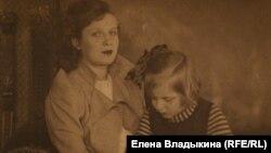 Нина Лекаренко и ее дочь Нина