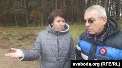 Ганна Шапуцька і Алесь Чахольскі