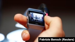Гадзіньнік Fitbit, архіўнае фота