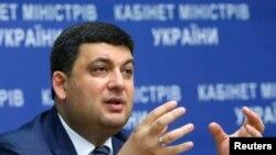 Украин өкмөт башчысы Володимир Гройсман