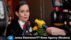 Эпизод скандала в Шведской академии: Сара Даниус объявила об уходе с поста постоянного секретаря. 12 апреля 2018