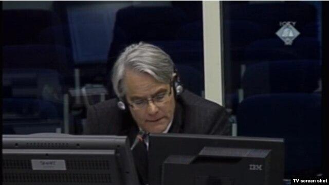 General Smith u sudnici 25. siječnja 2013.