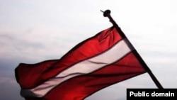 ლატვიის დროშა
