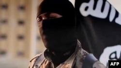 Скриншот пропагандистского видеоролика боевиков ИГ. Сентябрь 2014 года.