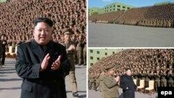 Հյուսիսային Կորեայի առաջնորդ Կիմ Չեն Ինը զինված ուժերի հրամանատարության մասնակցությամբ հանդիսության ժամանակ, արխիվ