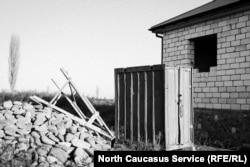 Место пропажи Пашаева в селе Берикей