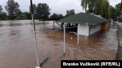 Вода знесла кілька мостів й пошкодила регіональні шляхи