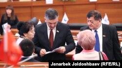 Жогорку Кеңештин 6-чакырылышынын депутаттары