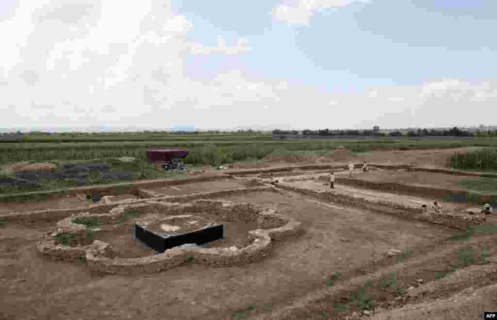 Приштина қаласының оңтүстігінде орналасқан көне Ульпиана шаһарының орнында археологиялық зерттеу жұмыстары жүріп жатыр.