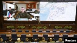 Пресс-конференция Минобороны России, 2016 год.