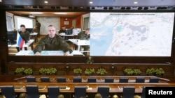 Брифінг Міноборони Росії. Лютий 2016 року