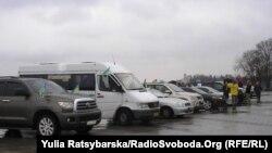 Дніпропетровський Автомайдан, квітень, 2014 року, архівне фото