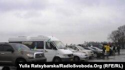 Activiști ai organizației Automaidan