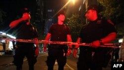 Полиция оцепила Таймс-Сквер ввиду угрозы теракта. 1 мая 2010 г