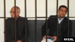 Rafiq Tağı və Samir Sədaqətoğlu. 9 mart 2007