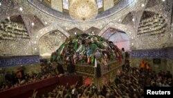 Kərbəlada imam əl-Abbas məqbərəsi
