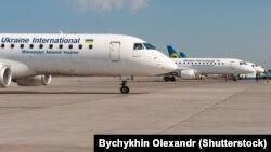 Літаки в аеропорту «Бориспіль», ілюстративне фото
