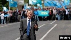 Мостафа Җәмилев 3 майда Украина-Кырым чигендә