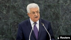 "Palestinian Authority President Mahmud Abbas called the vote a ""victory for Palestine."" (file photo)"