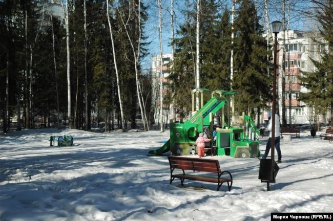 Жилые дворы Усть-Илимска