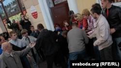 Эгемендик күнүндөгү акциялар өлкөнүн бир топ шаарларында өткөн. Минск, 3-июль, 2011