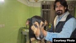 Iranian animal rights activist Ali Tabarzadi