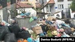 Smeće u Tutinu, foto: Danica Gudurić