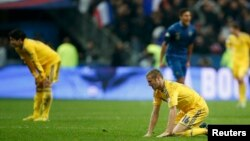Украина проиграла Франции