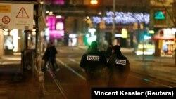 Policija na mestu pucnjave, Strazbur