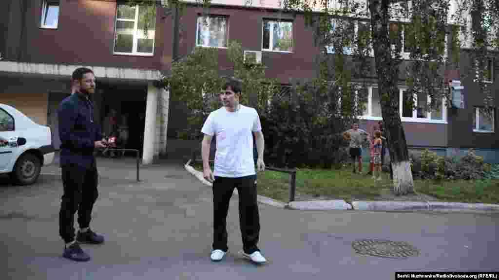 Олександр Костенко приїхав на місце зустрічі