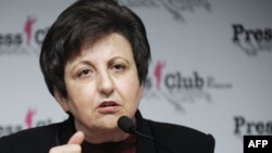 Iranian human rights activist Shirin Ebadi (file photo)
