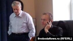 Сергей Миронов и Олег Шеин, Астрахань, 12 апреля 2012