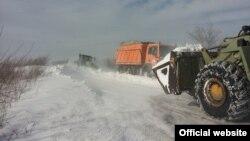 Serbi - Ushtria ka nxjerr makinerinë e saj për të pastruar rrugët në Vojvodinë, 1 shkurt, 2014