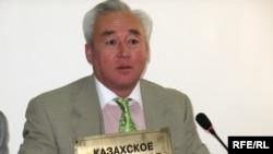 Сейтказы Матаев представил новое Казахское телеграфное агентство. Алматы, 8 сентября 2008 года.