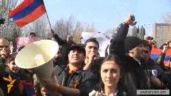 Դասադուլի դուրս եկած ուսանողները պահանջում են նոր ընտրություններ