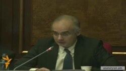 Զուրաբյանը ԱԺ-ում բարձրացնում է ՍԴ-ի նախագահի հրաժարականի հարցը