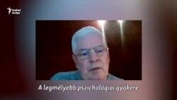 """""""Csak azzal lehet ezen túllépni, ha vak bizalommal vagyunk"""" - Siklaki István szociálpszichológus"""