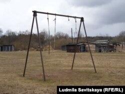 Двор, где жили Марцинкевичи