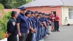 Saakashvili Trains Alongside Odesa Police