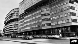 """Снимка на част от """"Уотъргейт"""" през 1974 г."""