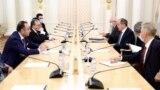 Mnatsakanyan-Lavrov görüşü. 21 oktyabr 2020