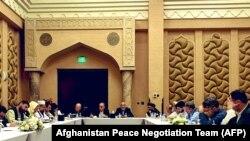 په قطر کې د طالبانو او افغان حکومت مرکچي پلاویو ترمنځ د سولې بهیر پر طرزالعمل خبرې د ۲۰۲۰ز د سېپټېمبر پر ۱۲مه پیل شوې.