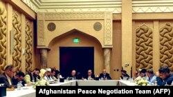 نشست گفتوگوهای صلح در قطر